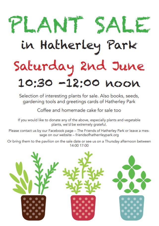 Plant Sale Hatherley